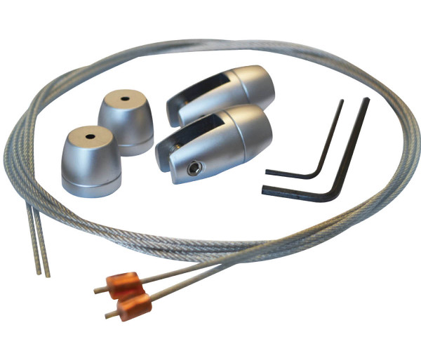 Axis Vertical Grip 6mm Kit with 1 Metre Wires
