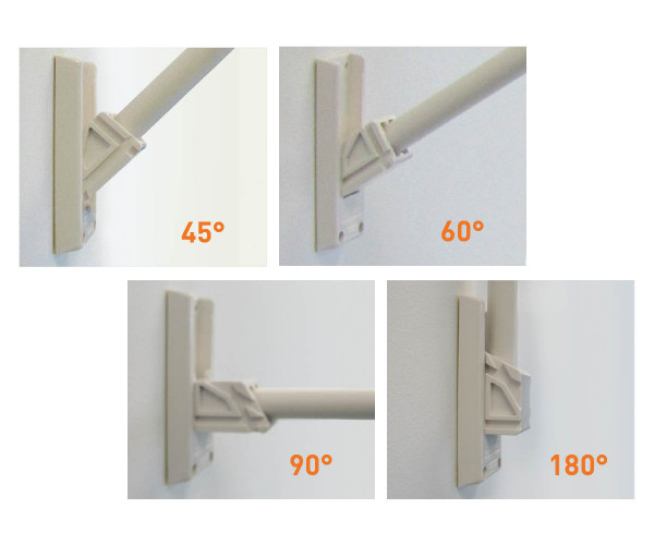 Display|Ad End Sign - Mounting Kit (excludes banner)