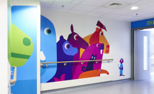 WALLTEX WT101 Wall Graphic Fabric Opaque Removable Adhesive